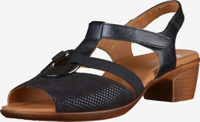 ARA Sandalen in nachtblau: Frontalansicht
