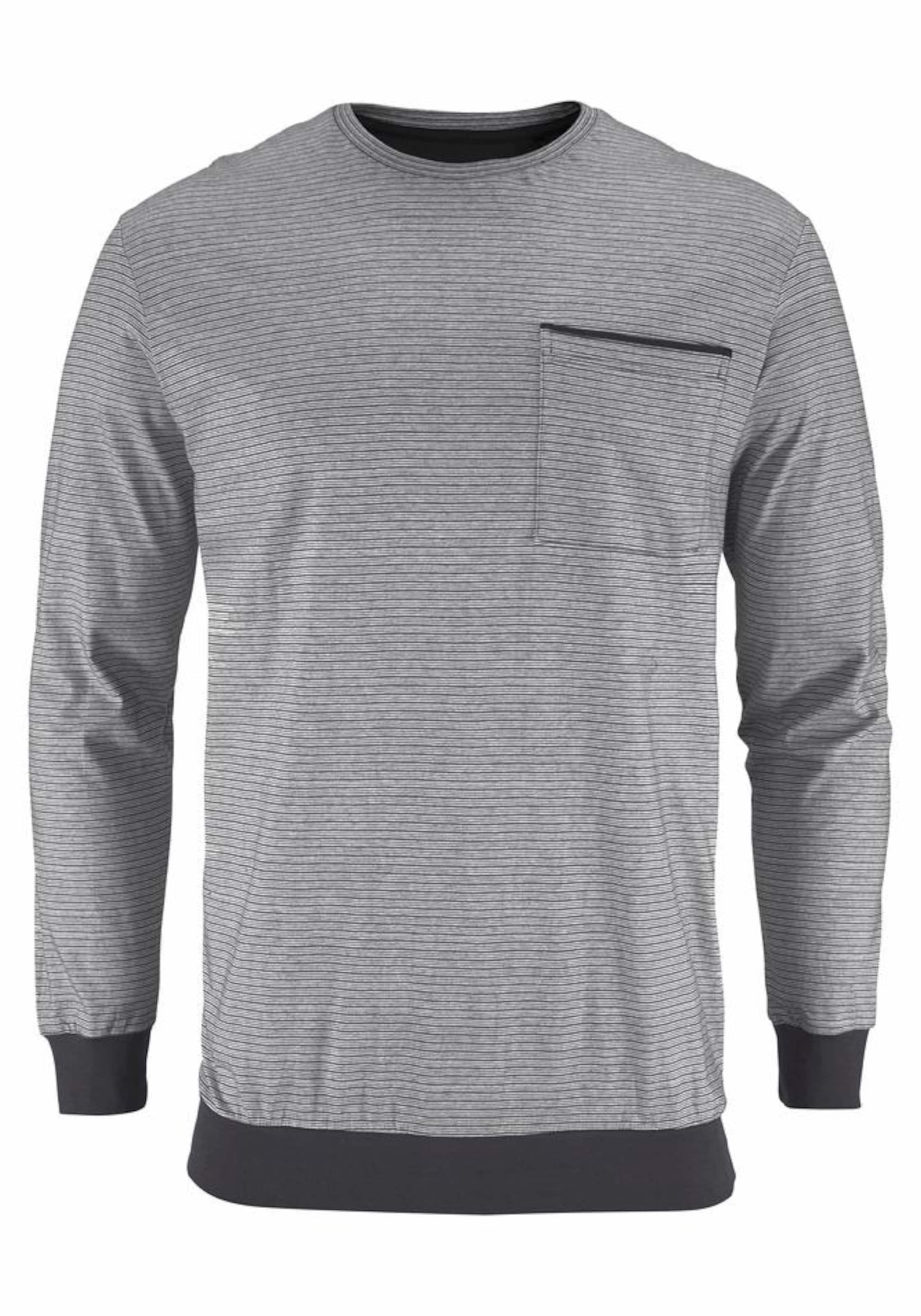 SCHIESSER Ringel Pyjama lang mit Brusttasche Zum Verkauf Offizieller Seite Niedrig Versandkosten Für Verkauf Outlet Kaufen Billig Authentische VUDhJEY