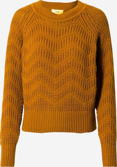 OBJECT Sweter 'ROSA' w kolorze karmelowym, Podgląd produktu