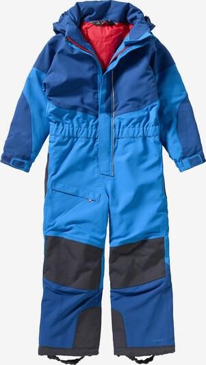 VAUDE Schneeanzug 'Suricate Overall II' in blau / schwarz, Produktansicht