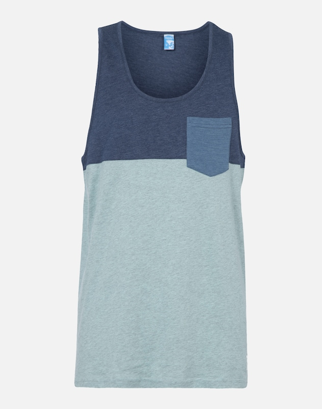 shirt Menthe Iriedaily En Bleu Cobalt T qaCvCw4