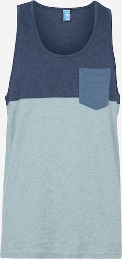 Tricou Iriedaily pe albastru / albastru cobalt / mentă, Vizualizare produs