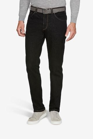 Meyer Hosen Jeans 'Dublin' in Schwarz