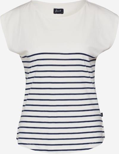 Forvert Shirt 'Talok' in beige / navy, Produktansicht