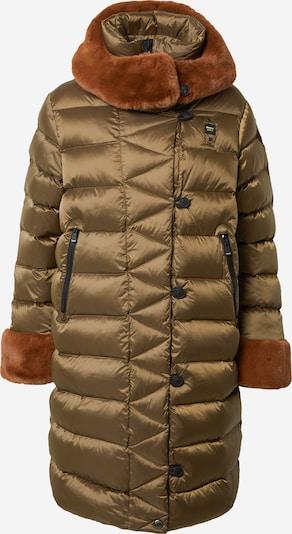 Blauer.USA Manteau mi-saison en vert, Vue avec produit
