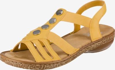 RIEKER Sandalen in gelb, Produktansicht