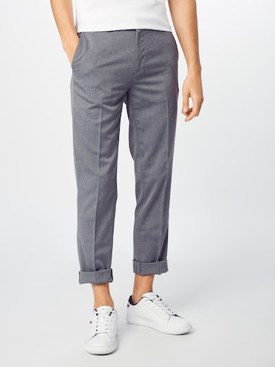 BURTON MENSWEAR LONDON Bundfaltenhose in grau, Modelansicht