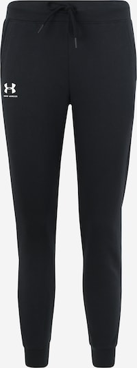 UNDER ARMOUR Sporthose in schwarz / weiß, Produktansicht
