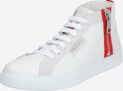 HUGO Sneaker in rot / weiß, Produktansicht