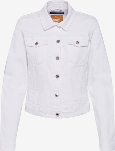 ONLY Jacke 'Tia' in white denim, Produktansicht