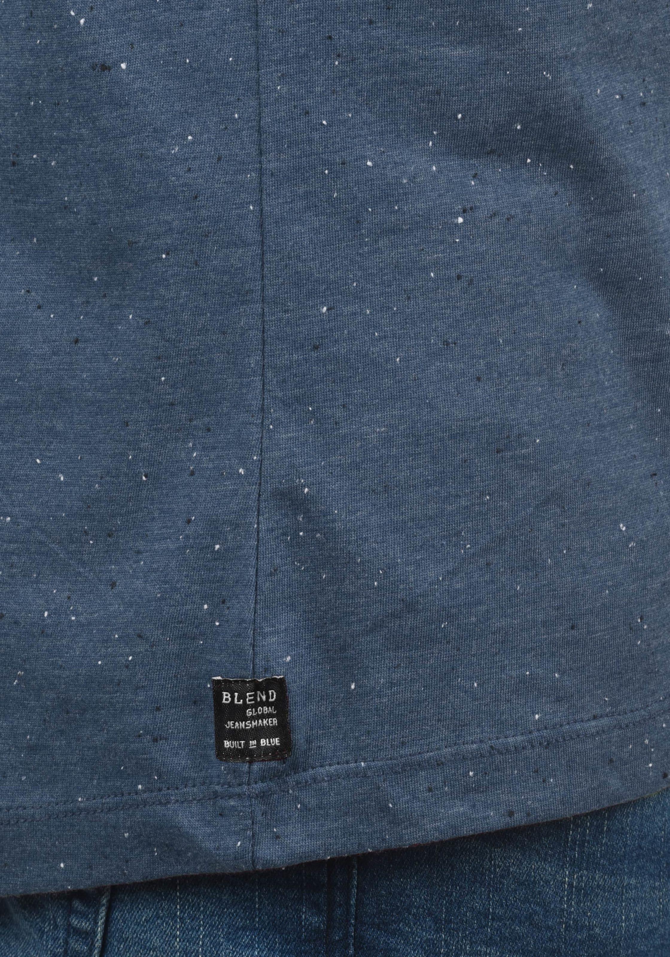 Blend Rundhalsshirt Blau In 'napito' 8k0PnwO