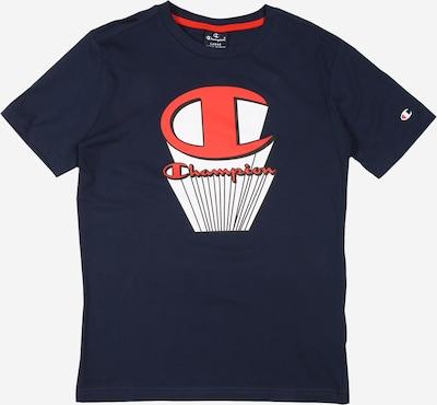 Tricou Champion Authentic Athletic Apparel pe albastru: Privire frontală