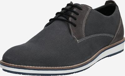 Pantofi cu șireturi 'Finnley' ABOUT YOU pe gri metalic, Vizualizare produs