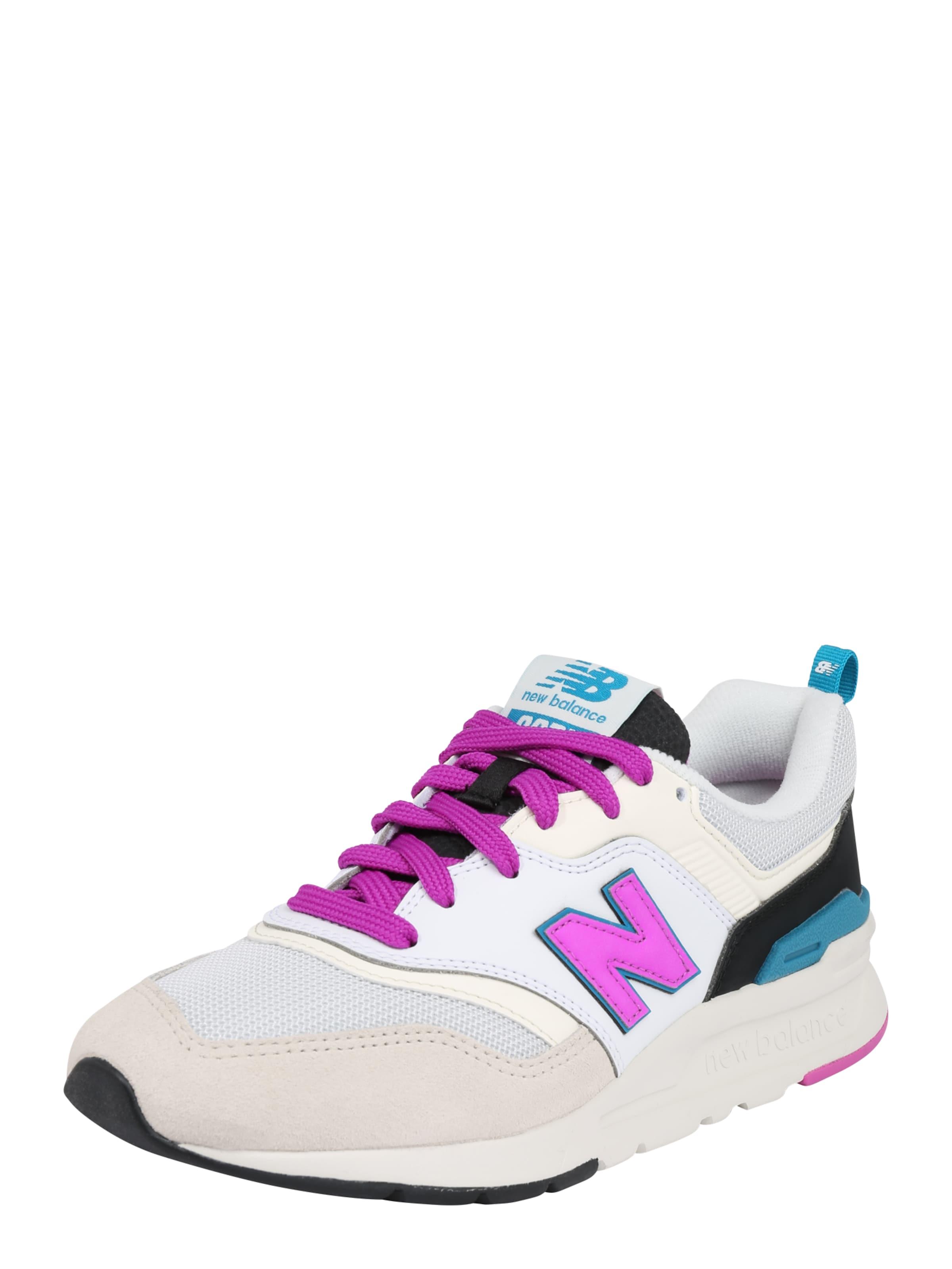 Blanc Baskets 'cw New Basses VioletNoir Balance 997' En 8nXOPk0wN