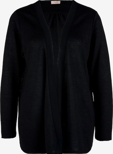 TRIANGLE Shirtjacke in schwarz, Produktansicht