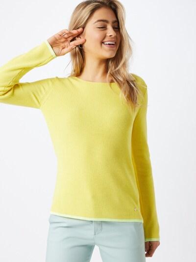 BRAX Pullover 'LIZ' in gelb, Modelansicht