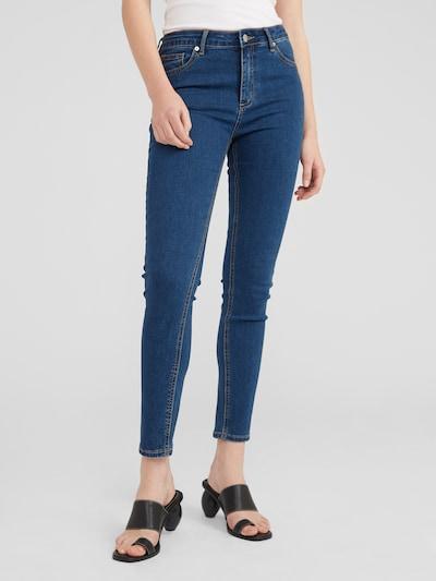 EDITED Jeans 'Diane' in blue denim, Modelansicht