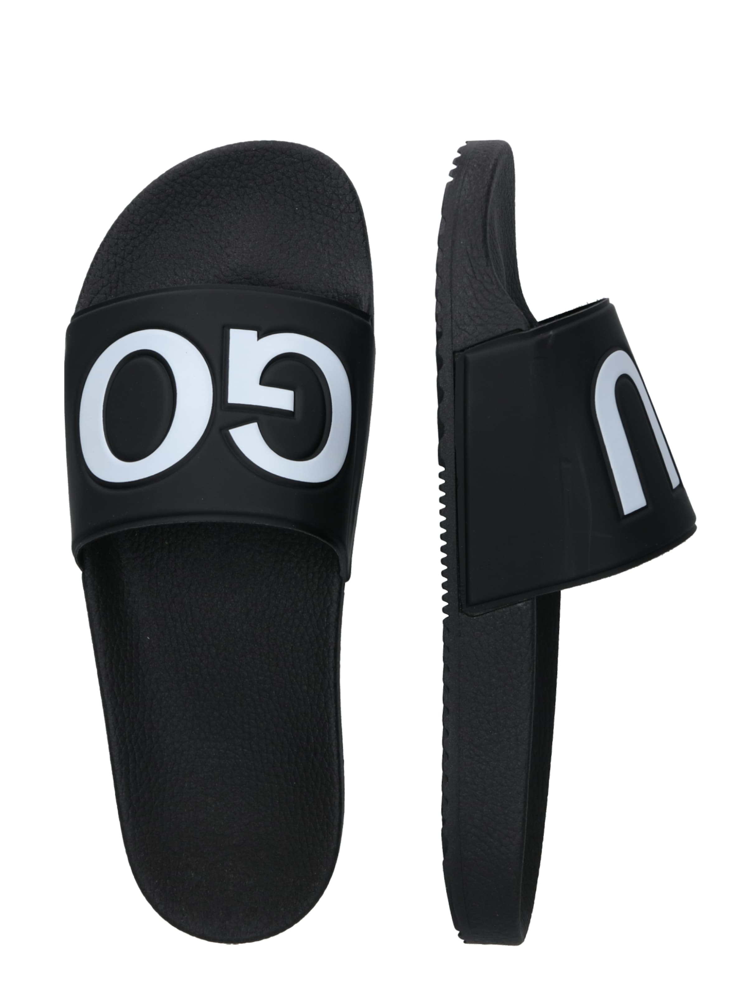 Hugo 'timeout rblg' slip Slipper Schwarz In DI29YWEH