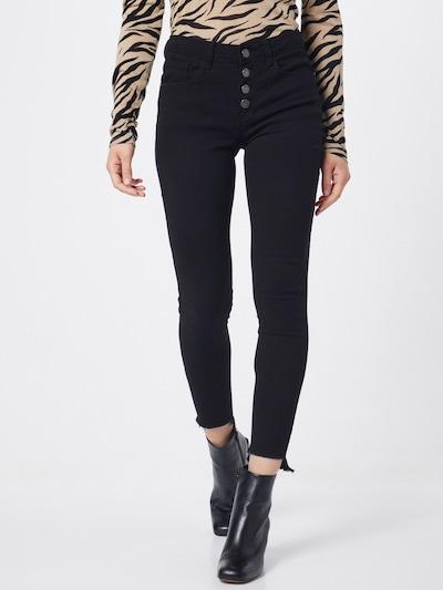 JACQUELINE de YONG Hosen in black denim, Modelansicht