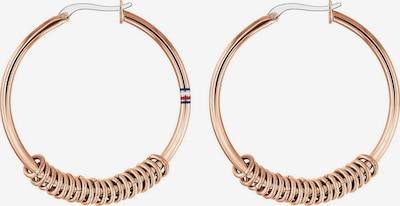 TOMMY HILFIGER Boucles d'oreilles en or rose, Vue avec produit