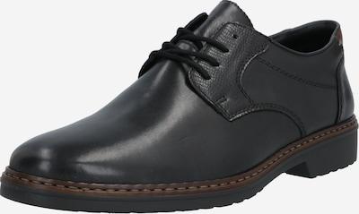 RIEKER Schnürschuh in kastanienbraun / schwarz, Produktansicht