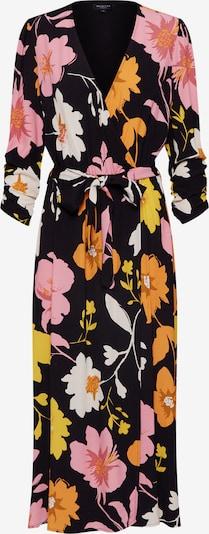 SELECTED FEMME Kleid 'MIDI DRESS' in gelb / rosa / schwarz, Produktansicht