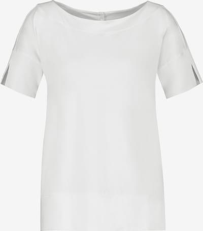 GERRY WEBER T-Shirt 1/2 Arm 1/2 Arm Shirt aus Baumwolle in weiß, Produktansicht