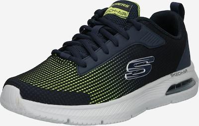 Sneaker bassa SKECHERS di colore navy / limone / nero, Visualizzazione prodotti