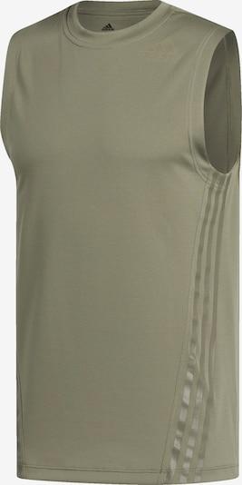 ADIDAS PERFORMANCE T-Shirt fonctionnel en kaki, Vue avec produit