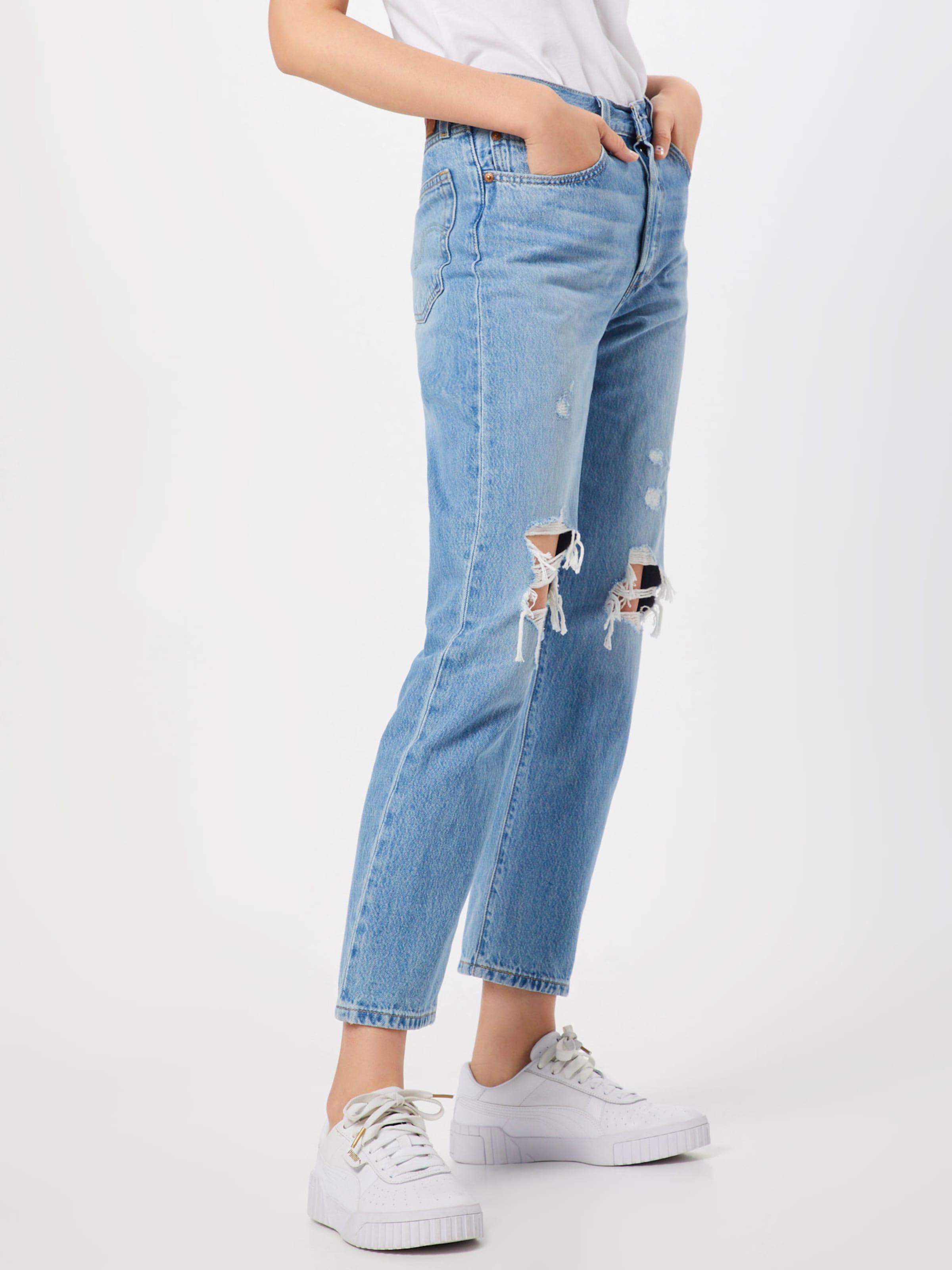 Crop' Levi's Jeans '501® In Blue Denim TlFK1Jc