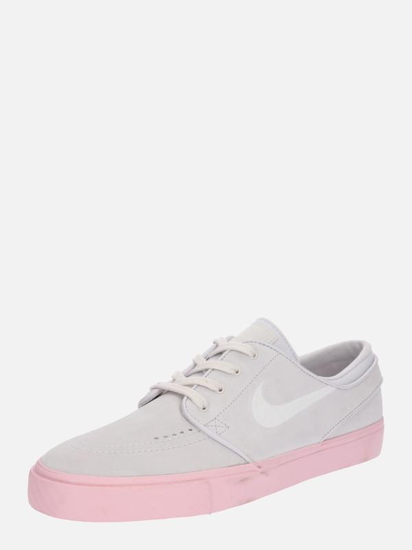 Nike SB Buty sportowe  Air Zoom Stefan Janoski  w kolorze jasnoszary    różowy pudrowym  c6eeeab931103