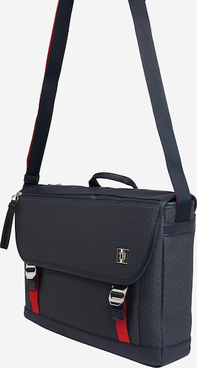TOMMY HILFIGER Tasche 'COATED CANVAS MESSENGER' in navy, Produktansicht