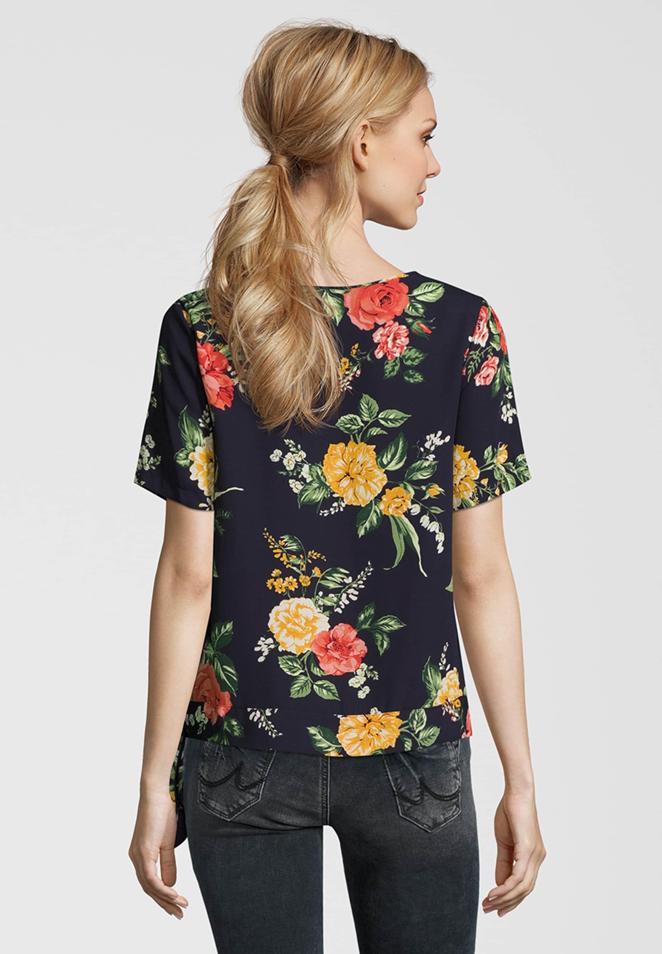 Tie Dorothy Rot Floral 'avita Detail' Blusenshirt Perkins NavyGrün In N0mnOv8w