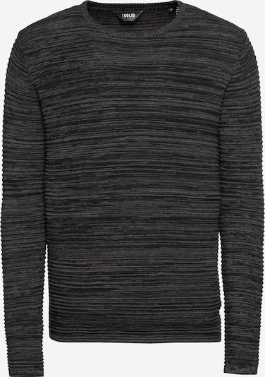 !Solid Пуловер 'Struan' в антрацитно черно, Преглед на продукта