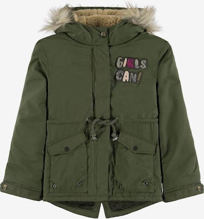 TOM TAILOR Winterparka in dunkelgrün, Produktansicht