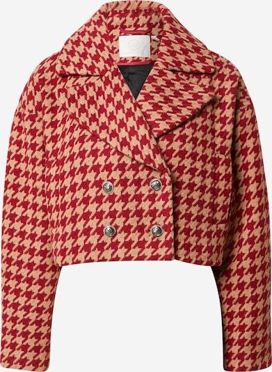 Guido Maria Kretschmer Collection Jacke 'Zoe' in beige / rot, Produktansicht