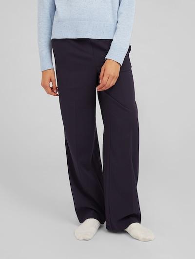 kék / sötétkék EDITED Ráncos nadrág 'Camille', Modell nézet