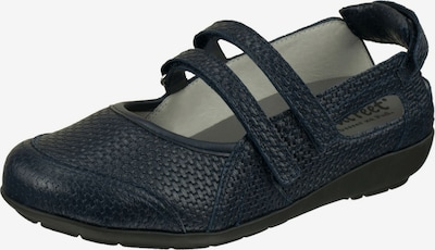 Natural Feet Ballet Flats with Strap 'Josi' in Dark blue, Item view
