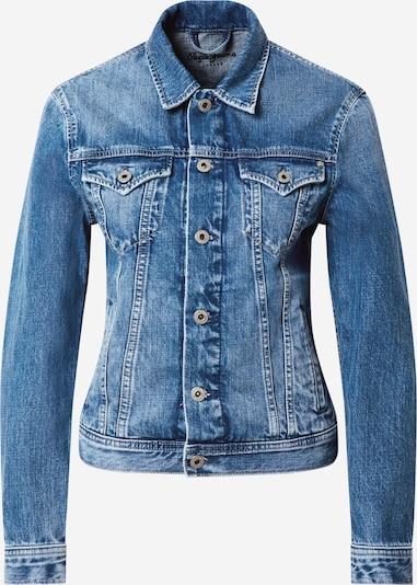 Pepe Jeans Přechodná bunda 'Rose' - modrá džínovina: Pohled zepředu