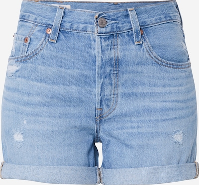 LEVI'S Jeans '501® SHORT LONG' in blue denim, Produktansicht