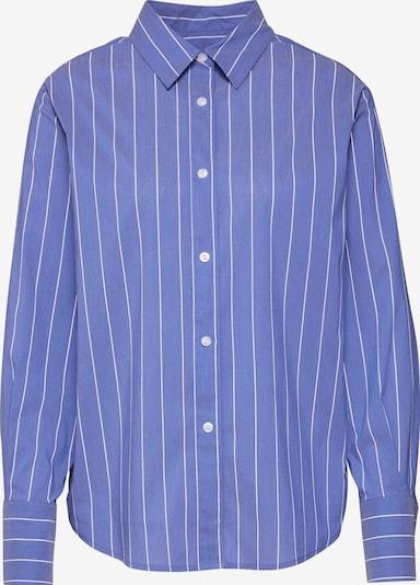 EDITED Blouse 'Marja' in de kleur Blauw / Wit, Productweergave