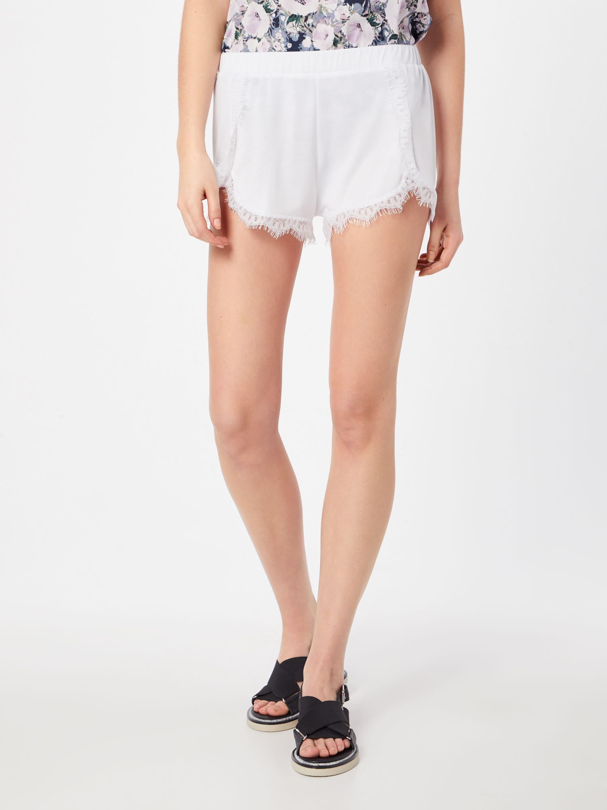 Shorts' En kd Detailed Lace Blanc Na Pantalon 'overlapped OTlPkXZiwu