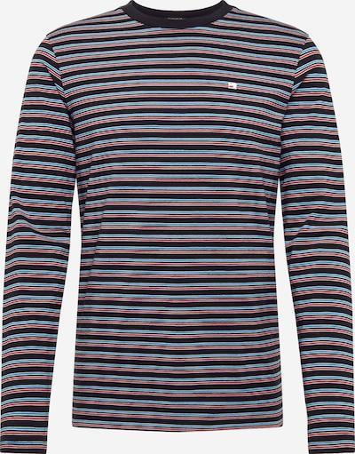 SCOTCH & SODA T-Shirt en bleu clair / rouge / noir, Vue avec produit