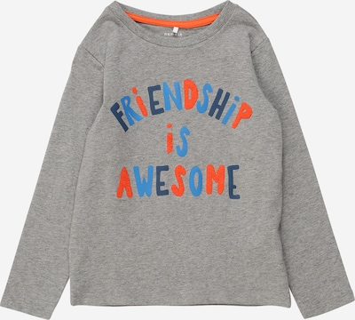 NAME IT Shirt in de kleur Grijs gemêleerd, Productweergave