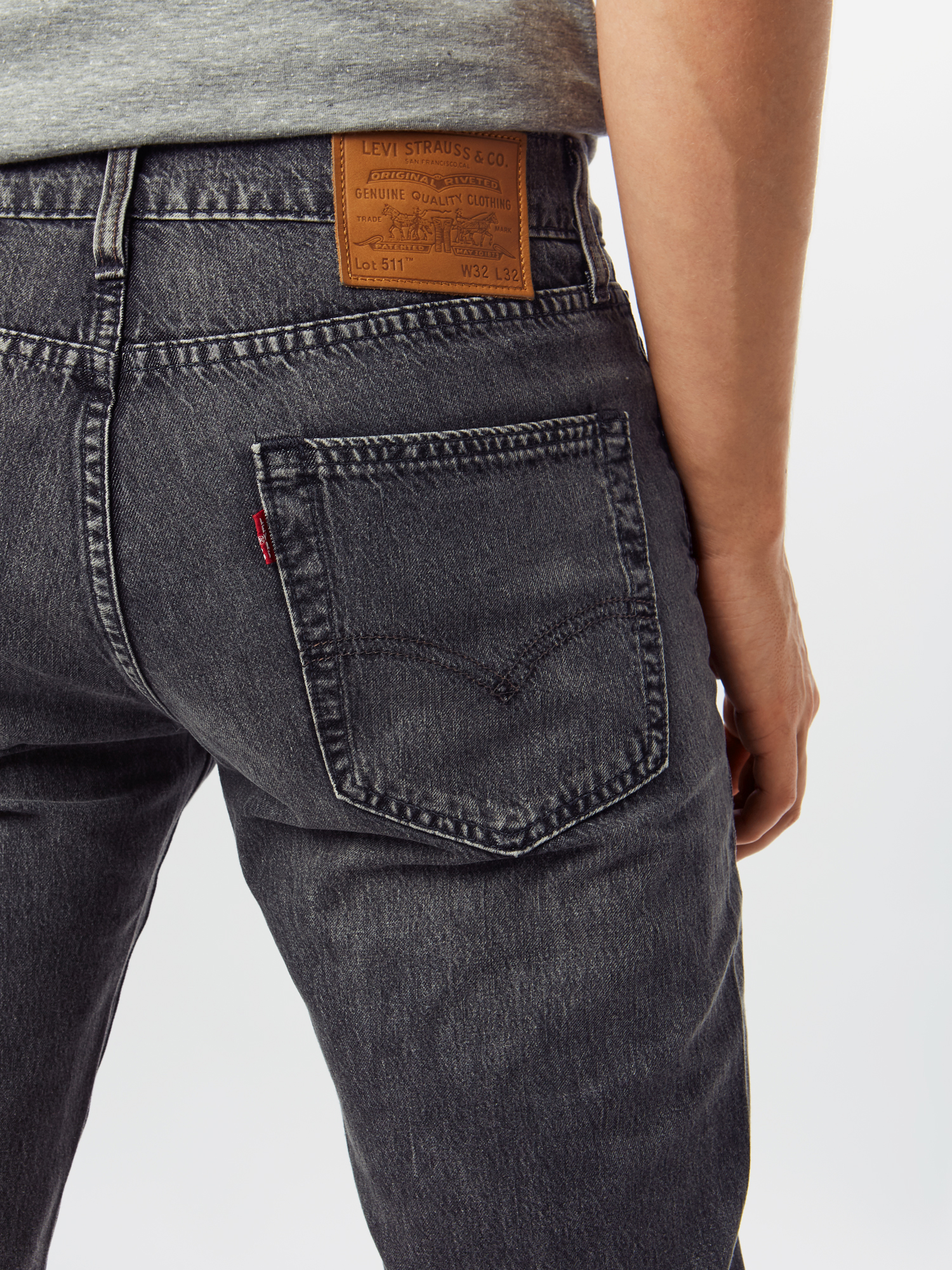 LEVI'S Jeans '511' in Grijs mzTF0qRh