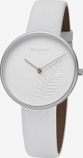 REGENT Uhr 'BA-659 3220.78.10' in silber / weiß, Produktansicht