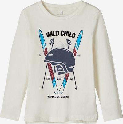 NAME IT Shirt in de kleur Gemengde kleuren / Wolwit, Productweergave