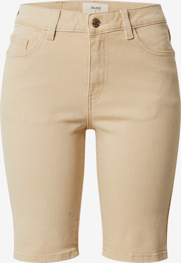 OBJECT Shorts in creme: Frontalansicht