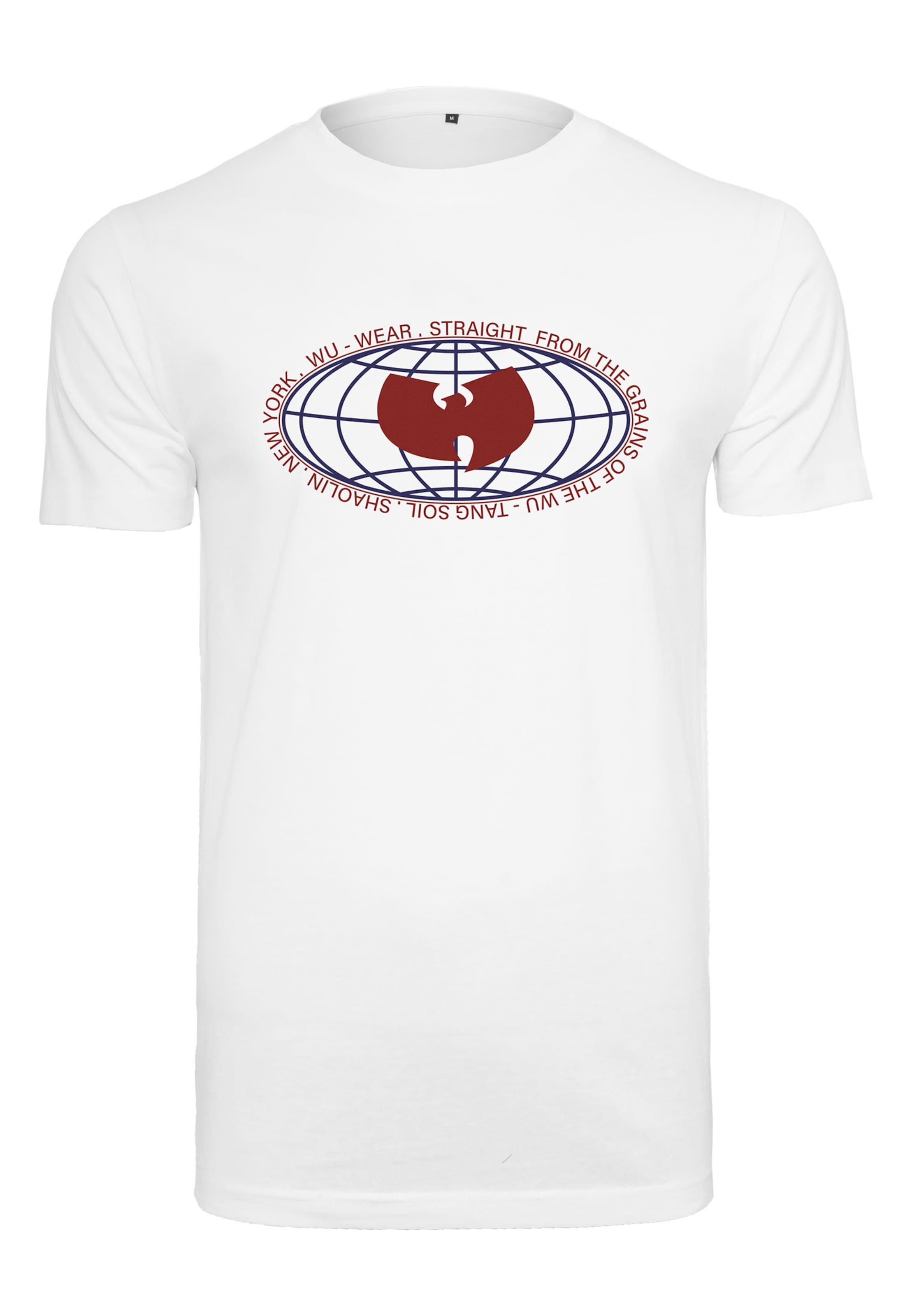 In RotWeiß Logo' Mister wear Tee 'wu Globe J1c3TlKF