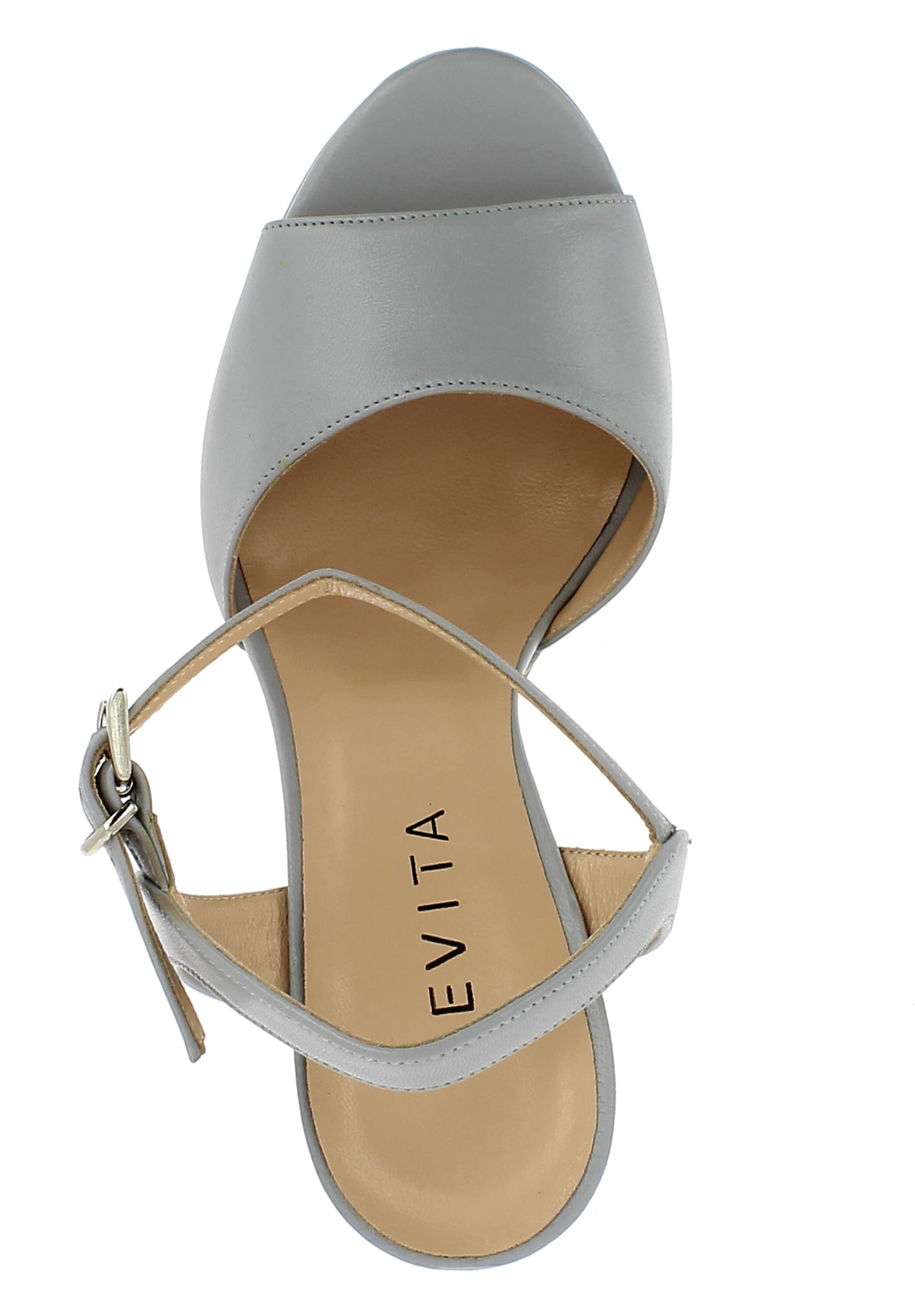 Sandalette Hellgrau In Hellgrau Evita Evita In Damen Damen Evita Damen Sandalette q3RAj54SLc